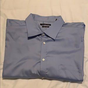 Micheal Kors Blue men's dress shirt 20 36/37